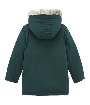 Boy's water resistant parka with feather and down filling