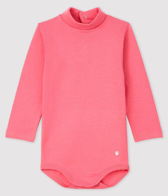 Baby's long-sleeved roll-neck bodysuit CHEEK