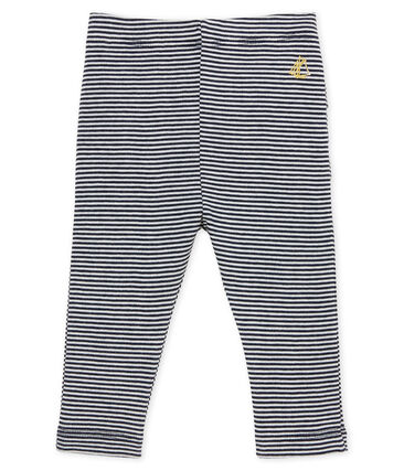 Baby girls' pinstriped leggings