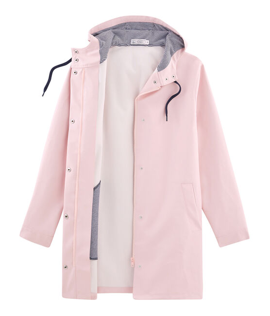Women's long parka Joli pink