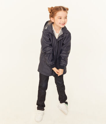 Iconic Children's Raincoat Smoking blue