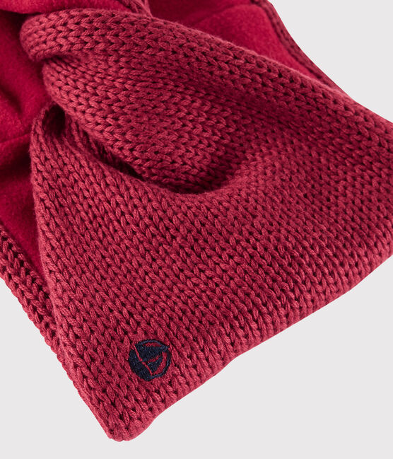 Unisex Cabled Snood POPPY