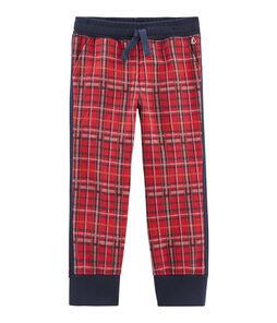 Boys' Tartan Knit Trousers
