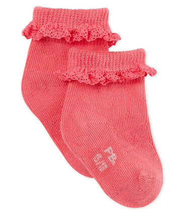 Baby girls' lace socks