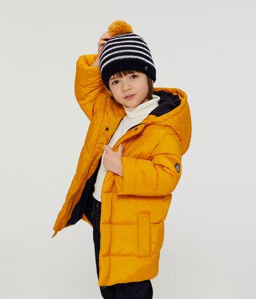 Boys' Down Coat Boudor yellow