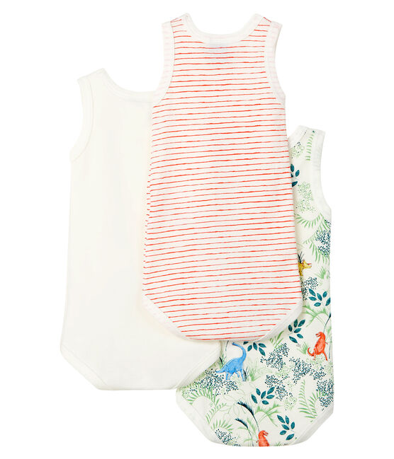 Baby Boys' Sleeveless Bodysuit - 3-Piece Set . set