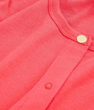 Girls' Cardigan Groseiller pink