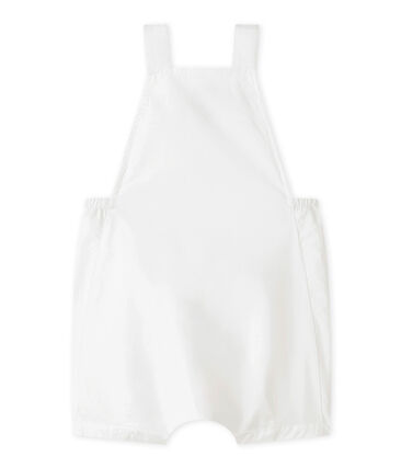 Baby Boys' Cropped Linen Dungarees