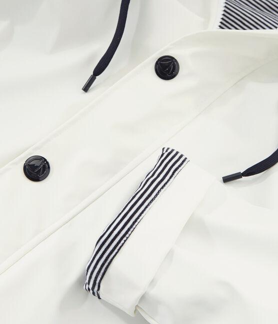 Unisex iconic raincoat Marshmallow white
