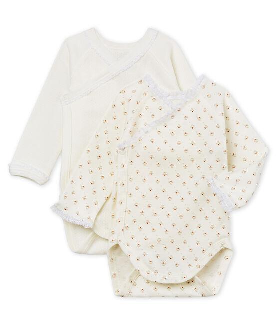 Baby Girls' Newborn Bodysuit - Set of 2 . set