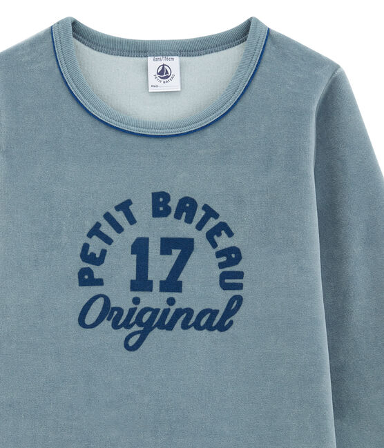Little boy's pyjamas Astro blue