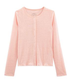 Women's Linen Cardigan Patience pink