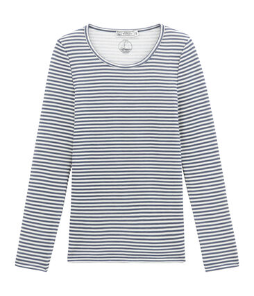 women's long sleeved cotton and wool t•shirt