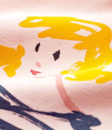 Girls' Short-sleeved T-shirt Minois pink