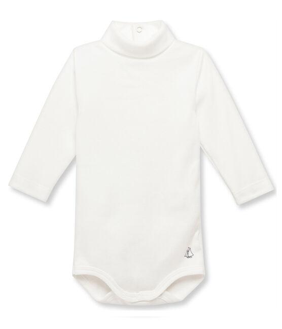 Baby roll neck bodysuit Coquille beige