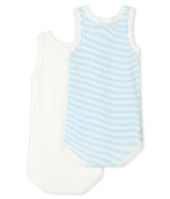 Baby Boys' Sleeveless Bodysuit - 2-Piece Set . set