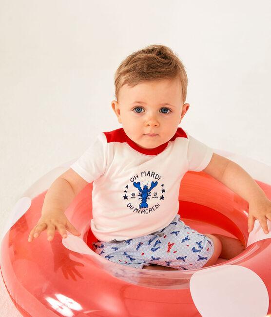 Baby Boys' Print Shorts Marshmallow white / Multico white