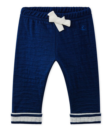 Baby boy's pants Medieval blue