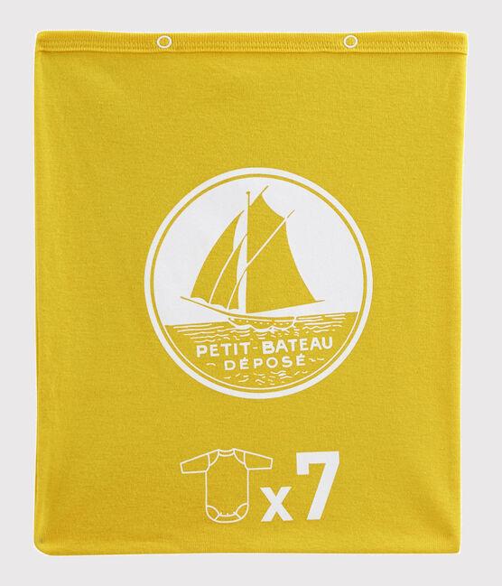 Baby Boys' Long-Sleeved Bodysuits - 7-Piece Surprise Set . set