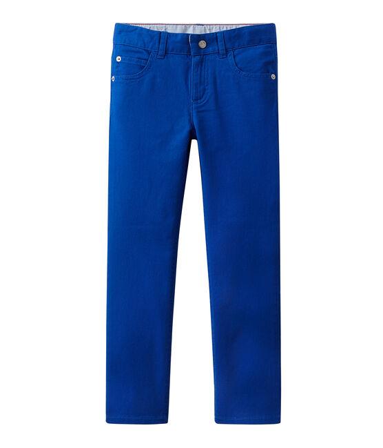 Boy coloured denim trousers Perse blue
