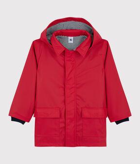 Unisex Children's Raincoat Terkuit red