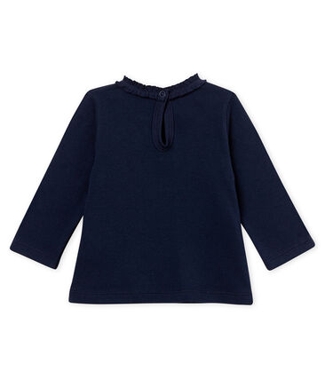 Baby girl's plain blouse
