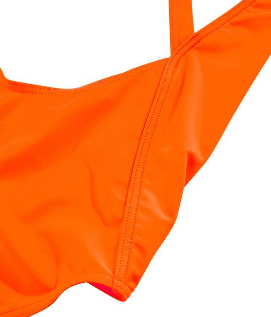 Women's Eco-Friendly Swimsuit Tiger orange