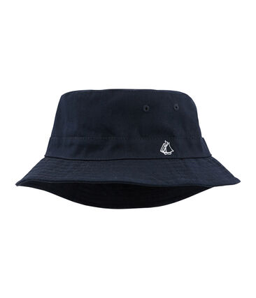 Unisex twill children's bucket hat Smoking blue
