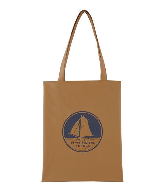 plain shopping bag Brindille brown