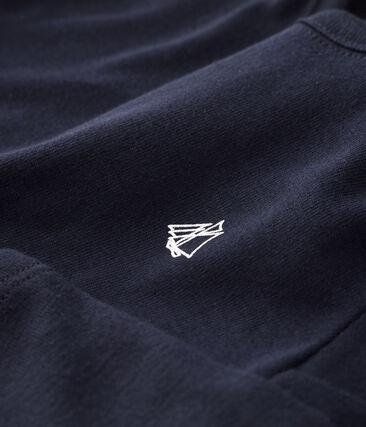 Baby boys' long-sleeved T-Shirt Smoking blue