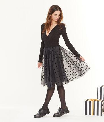 Women's Tulle Skirt Noir black
