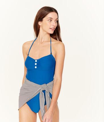 Women's 1-piece swimsuit Riyadh blue