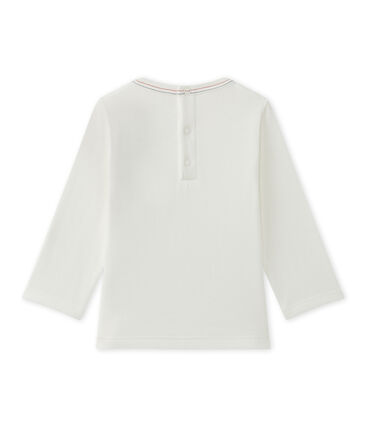 Baby boy's plain T-shirt Marshmallow white