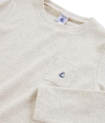 Boys' Long-Sleeved T-shirt Montelimar Chine grey