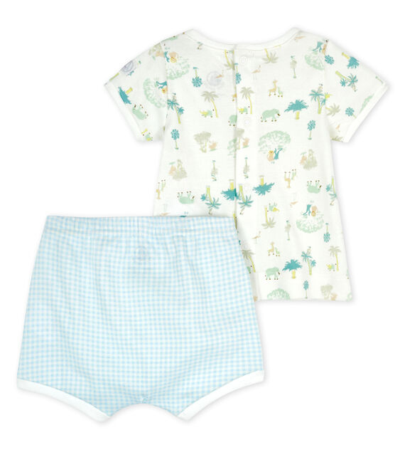 Baby Boys' Clothing - 2-Piece Set Marshmallow white / Multico white