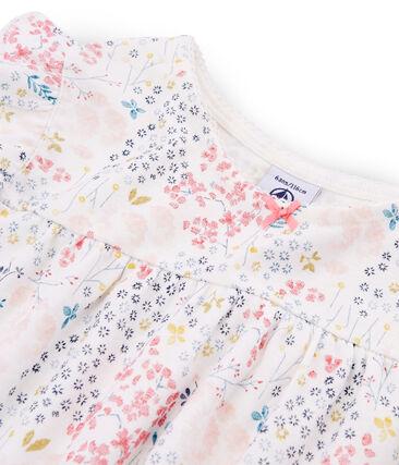 Girls' Ribbed Cropped Pyjamas