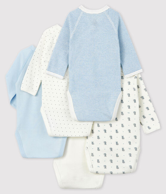 Newborn Babies' Long-Sleeved Bodysuit - 5-Piece Set . set