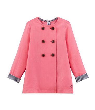 Girls' Jacket Cupcake pink