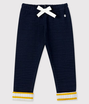 Baby boy's tubular knit trousers SMOKING