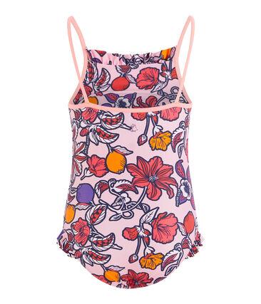 Girls' UPF 50+ One-Piece Swimsuit null