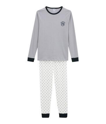 Boy's pyjamas Marshmallow white / Multico white