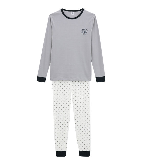 Boy's pyjamas Marshmallow white / Multico white