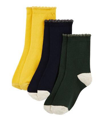 Girls' Socks - 3-Piece Set . set