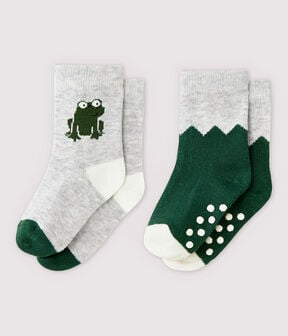 Baby Boys' Patterned Socks - 2-Pack . set