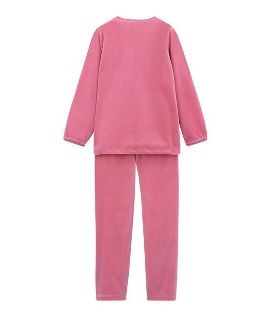 Little girl's pyjamas Cheek pink