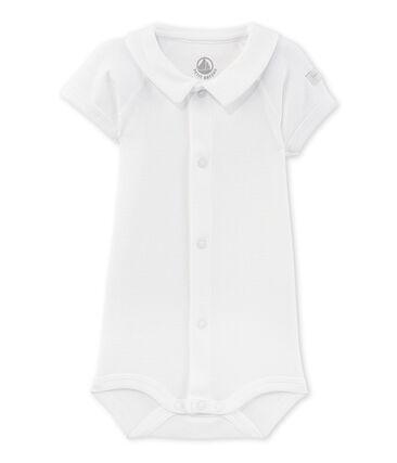Newborn bodysuit with collar