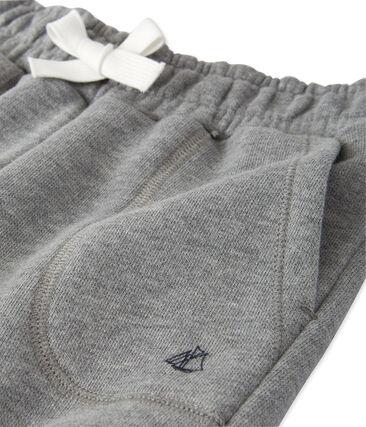 Boy's fleece pants Subway Chine grey