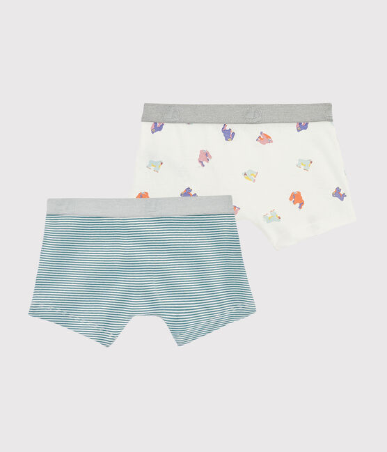 Boys' Monkey Print Boxer Shorts - 2-Piece Set . set