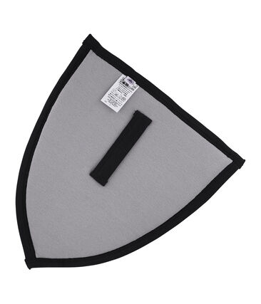 Little boy's shield and helmet Concrete grey