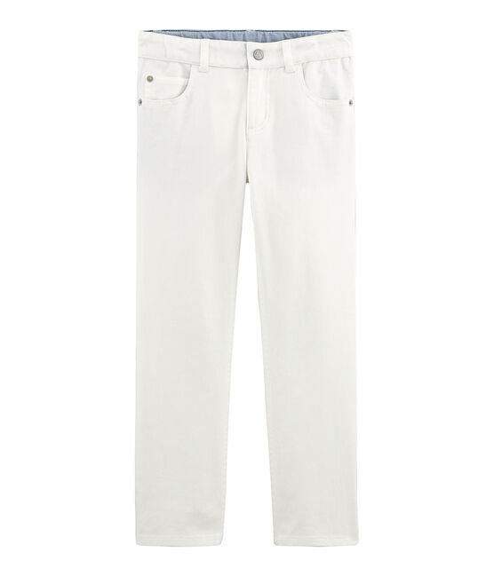 Boys' Trousers Marshmallow white